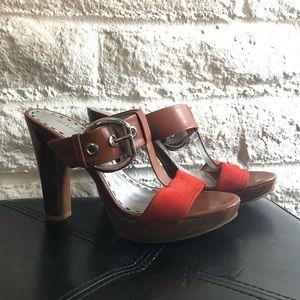 Gianni Bini Shoes - Gianni Bini Red Platform Heel